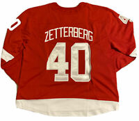 Fanatics Breakaway Detroit Red Wings Henrik Zetterberg Player Stitched Jersey C