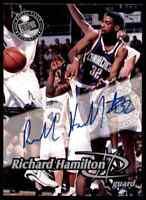 1999-00 Press Pass Richard Hamilton Auto