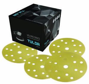 TULDA PAPER / FILM DA SANDING DISCS150MM [15H] (Box of 100 / 50) VARIOUS GRITS