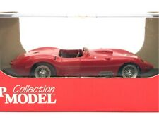 1957 Maserati 450S Open Top Turismo In Red Top Model 1:43 TMC134