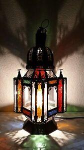 lanterne lampe marocaine z2 lustre plafonnier fer forgé  applique suspension