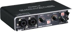 ROLAND QUAD-CAPTURE UA-55 Audio Interface With Microphone