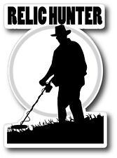 Relic Hunter Metal Detecting Sticker Decal Garrett Minelab Bounty Hunter