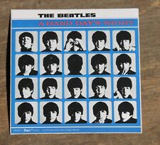 """Vintage The Beatles A Hard Day's Night 2005 Rock Band Sticker 3"""" x 3"""" +"""