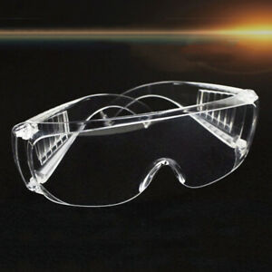 Transparent Vented Safety Goggles Eye Protection Protective Glasses A O0U3
