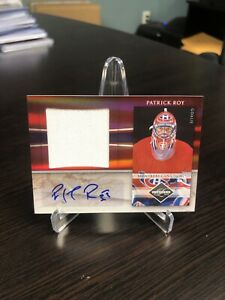 Patrick Roy 10-11 Limited Autograph/Jersey Relic #33/49 AUTO Jersey # Ebay 1/1