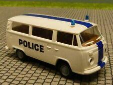 1/87 Brekina VW T2 Police Dachstreifen blau Belgien Bus 3311