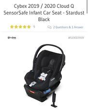 *New* 2019 Cybex Cloud Q Sensor Safe Infant Seat - Stardust Black