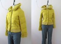 Miss Sixty Yellow Hoodie Puffer Small  Buy 3 + items for FREE Postage