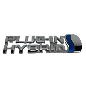 OEM Toyota 2012 - 2015 Prius Plug-In Front Left Fender Emblem Badge 75374-47120