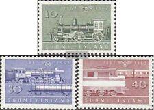 Finnland 543-545 (kompl.Ausg.) postfrisch 1962 Staatseisenbahn