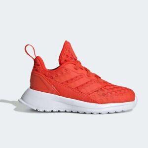 Adidas D97110 infant toddler Rapida Run Running BTH I baby shoes orange kids