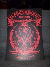 Black Sabbath Poster The End Tour Concert tour poster 2016 tour