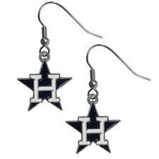 Siskiyou Gifts BDE015 MLB Dangle Earrings- Houston Astros