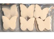 Confettis papillons en papier de soie ignifugé ivoire 50 grammes decoration tabl