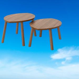 *New* STOCKHOLM Nest of tables, set of 2, walnut veneer 102.397.13 *Brand IKEA*