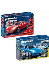 Playmobil  LOTE 3911 PORSCHE 911 Carrera S + 5991 PORSCHE 911 Targa S