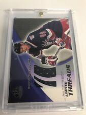 2003-04 SP Game Used Limited Threads #LTG1 Wayne Gretzky /75 New York Rangers