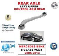 eje trasero izquierda superior brazo de Control Para Mercedes Benz S-Class W221