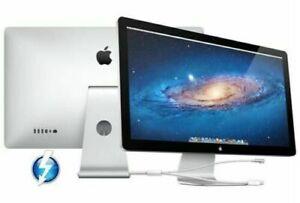 "Apple Thunderbolt A1407 27"" LCD TFT Cinema Display /MagSafe 2 +Mini D-Port USB-C"