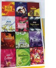 Gr Cones Collection 12 Assorted Fragrant Incense Cones Total 120 Cones Free Ship
