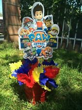 Paw patrol  stick Only for centerpiece or  cake topper.