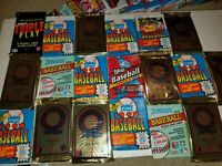 HUGE LOT: 450 Vintage New and Unopened Baseball Cards in Sealed Packs