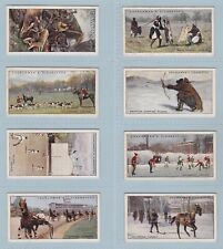 More details for cigarette cards - sports & games in many lands (w.a. & a.c. churchman) 24 cards