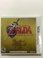 The Legend of Zelda Ocarina of Time 3D Nintendo 3DS, 2011 First Print White Case