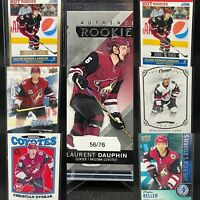 Arizona Coyotes 14 Card Rare Rookie Lot Upper Deck Keller Larsson Hayton Dauphin
