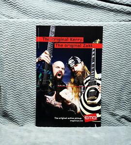 Slayer & Ozzy *Kerry King & Zakk Wylde* EMG Promo Poster<<>>RARE