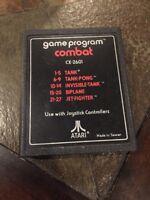 Atari CX-2601 - Combat (Tank -Tank Pong - Invisible Tank -Biplane - Jet Fighter)