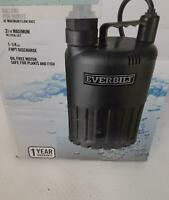 Everbilt Waterfall Utility Pump 4/10 Hp Submersible Sup80-hd  *BEING SOLD AS IS*
