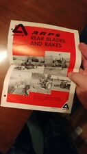 ARPS Rear Blades and Rakes Tractor Accessories Catalog Farm