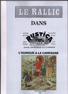 LE RALLIC dans RUSTICA.  Humour à la Campagne. Amis de Le Rallic 2009.