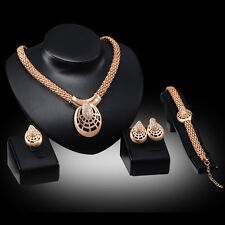 cheap fashion Jewelry Sets free shipping Gold Plated Necklace Earring Bracelet