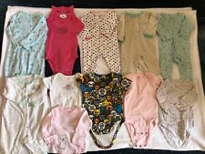 Baby Girl 3-6 Month Clothes Lot Of 12 washed