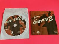 🔥 SONY PS1 PlayStation One PSX 💯 WORKING GAME Disc 1/Book Only 🔥 DRIVER 2