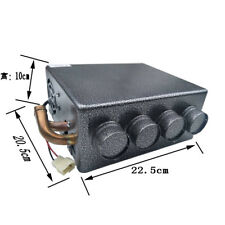 12V Universal Copper Truck Under Dashboard Heater Water Heating + Speed Switch