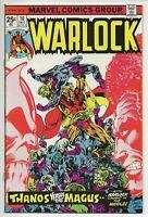 Warlock #10 VF 8.0 (Marvel Comics, 1975) Origin Thanos Gamora In-Betweener App.