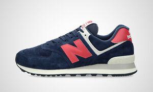 New Balance ML574PN2 dunkelblau/rot, Herren Sneaker, NEU im Karton