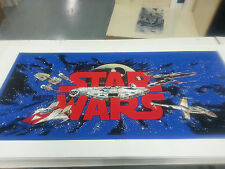 Data East STAR WARS Pinball Cabinet Decal Set Screen Printed - PA EXCLUSIVE!