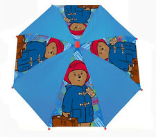 Paddington Bear Blue and Red Childrens Kids Stick Umbrella Brolly 56cm