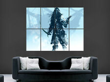 PIRATE SHIP POSTER SWORD GUN GIANT PRINT IMAGE HUGE