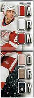 13-14 Panini Playbook IGOR LARIONOV Armory patch glove skate #/50 Red Wings WOW!