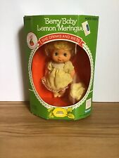 Vintage 1984 Strawberry Shortcake Berry Baby Lemon Meringue Doll NIP