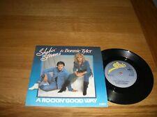 "Shakin Stevens & Bonnie Tyler-A rockin good way.7"""