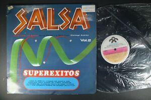 RAPHY LEAVIT Superexitos Salsa Vol. 2 v/a LATIN Import LP Colombia SONO-RODVEN