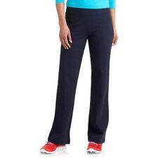 Danskin Now Women's Dri-More Core Bootcut Pants, Small, Navy