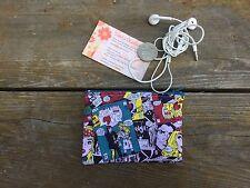 Cute Cartoon Print 12 x 8 cm   Girls  / Ladies Australian Handmade Coin purse